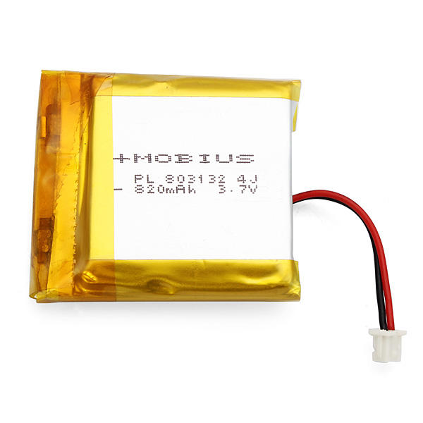 Mobius 3.7V 820mAh Upgraded Battery for Action Sport Camera