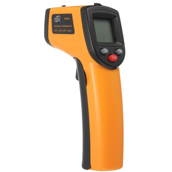 BENETECH GM320 Icke-kontakt Laserskärmskärm Digital IR Temperaturmätare för infraröd termometer Gun -50 ℃ till 330 ℃