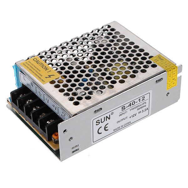 12v 3 2a 40w Switch Power Supply Driver For Led Light Strip 110v 220v