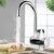 220V 3000W Grifo eléctrico de agua caliente instantánea Calentador Grifo de cocina Cuarto de baño Grifo de la cocina
