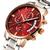 GUANQIN GS19053 Orologio da polso al quarzo da uomo in acciaio multifunzionale di lusso