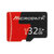 Microdata 32GB C10 U1 Micro TF Memory Card with Card Adapter Converter for TF to SD