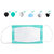 10Pcs Disposable Mask Filter Cotton Filter Particulate Filter Mask Gasket Mask Use Filter For Protection Pollution Mask Pad 3 Layer