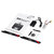 XK K130 2.4G 6CH Brushless 3D6G System Flybarless RC Helicopter RTF Compatible with FUTABA S-FHSS