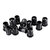 10pcs 5MM LED Holder Black Plastic Diode Lampshade Holder Clip Bezel Mount Light Case Cup Bezels Mounting Cases