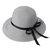 Phụ nữ Bow Có thể gập lại Kem chống nắng Xô Mũ Mũ ngoài trời Du lịch Bình thường Beach Floppy Hat