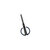 Fizz FZ212003 Anti-Stick Scissors With Scale Stationary Scissor Household Diy Rounded Cutter Head