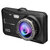 4 Inch 1080P Touch Screen Dual Lens Front + Rear Car Dash Cam DVR Camera Recorder