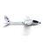 XK A800 4CH 780mm 3D6G System RC Glider Airplane Compatible Futaba RTF