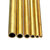 3-8mm Diameter Brass Hollow Round Tube Rod Lathe Bar Stock Kit Assorted for DIY Craft Tool Length 50cm