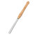 Drillpro High Speed Steel Lathe Chisel Wood Turning Tool with Wood Handle Woodworking Tool