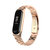 Bakeey Colorful Stainless Steel Watch Band Replacement Watch Strap for Xiaomi mi band 3/4