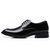Hombres Classic Soft Zapatos de cuero cómodos formales de Oxfords de negocios