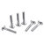 Machifit 10pcs M6x40mm T-Nut T Sliding Screws For  30 Series Miter Track Woodworking Tool