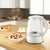 Ultra Cordless Electric Kettle Fast Boiling Glass Tea Pot 1.7L 1850W With LED Light Inside Glass Fast Boiling Auto Shutoff Boil-Dry Protection