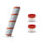 3PCS Roller Brushes Filter Replacements for Dreame V9 Cordless Handheld Vacuum Cleaner