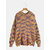 Women Loose Camouflage Pullover Round Neck Sweaters