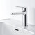 Diiib Bathroom Basin Faucet Hot Cold Mixer Tap Single Handle Deck Mount w/ Stainless Steel Hose NEOPERL Bubbler Ceramic Core from Xiaomi Youpin