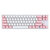 [Gateron Switch] Magicforce Smart 2 68 Keys bluetooth 4.0 Wired Dual Mode PBT Keycap Mechanical Gaming Keyboard for Desktop and Laptop