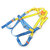 Construction of Outdoor High-Altitude Operation Polyester Full-Body Safety Belt Full Body Type W/1 Rear D-Ring Polyester Roofers Belt