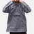 Mens 100% Cotton Long Sleeve Solid Color Hooded Shirts