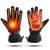 Electric Heated Gloves Warm Hand Battery Powered Motorcycle Sport Waterproof
