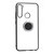 Bakeey Plating Transparent Ultra-thin with Finger Ring Holder Shockproof PC Protective Case for Xiaomi Redmi Note 8