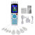 16 Modes Electric Body Health Tens Slimming Pulse Therapy Massager Machine Relax Muscle