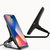 Bakeey 10W Qi Wireless Fast Charger Holder Aluminum Alloy Desktop Phone Holder Stand for Samsung Xiaomi Huawei