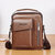 Men Vintage Multifunctional Crossbody Bag Shoulder Bag Handbag Business Bag For Outdoor
