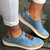 Large Size Women Comfortable Hollow Out Splicing Flat Loafers