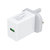 Universal 18 W 5V 2.1A Power Plug Pengisian Adapter untuk Ponsel Tablet Speaker UK Plug