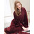 Plus Size Winter Flannel Long Sleeve Nightgown Robes