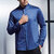 Mens Fashion Long Sleeve Solid Color Casual Shirts