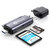 Biaze Type-C Card Reader USB 2.0 TF Card SD Card OTG Multifunction Memory Card Adapter for PC Laptop
