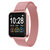 [Free Gift]Bakeey P90 1.3 inch Full Touch Screen Wristband Blood oxygen Heart Rate Monitor Weather Display Smart Watch