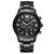 CURREN 8056 Bisnis Baja Penuh Style Men Wrist Watch Waterproof Quartz Watches