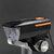 XANES® XL39 600LM 2 इन 1 140dB हॉर्न बाइक फ्रंट लाइट USB रिचार्जेबल 3 मोड्स वाटरप्रूफ वार्निंग नाइट लाइट