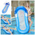 160x90cm Inflatable Float Outdoor Kids Adults Swimming Pool Row Raft