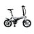 [EU Direct] ONEBOT S6 36V 250W  6.4Ah 16inch Folding Moped Bicycle 3 Modes 25km/h Top Speed 50km Mileage Range Electric Bike Max Load 120kg