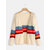 Casual Color Striped Long Sleeve Knit Cardigans