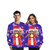Christmas 3D Print Couples Casual Loose Sweatshirt