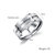 Keep Fucking Going Titanium Steel Stainless Steel Inspirational Phrase Ring