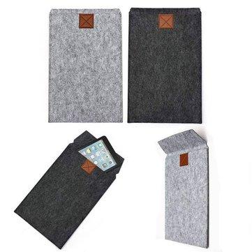 Envelope Sleeve Woolen Felt Case Cover Bag For 11.6 Inch Tablet