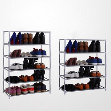 Multi Tiers Shoes Shelf Storage DIY Metal Organizer Rack Holder Household Stands