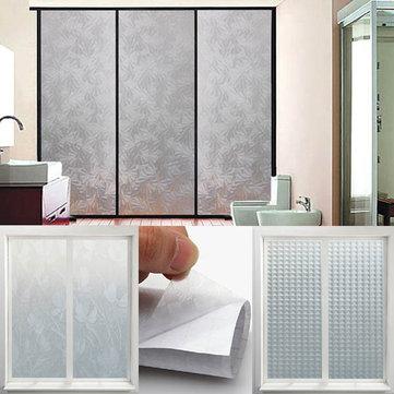 200x45cm escalables impresos helado pegatinas de ventana no transparente