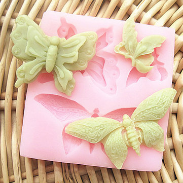 Butterfly Silicone Fondant Cake Mold Soap Mold Chocolate Mold