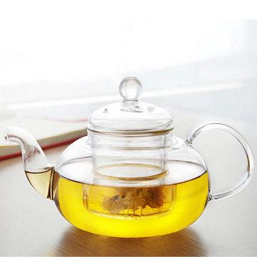 350ML-1000ML Varmebestandigt glastekande med infuser Kaffe teblad