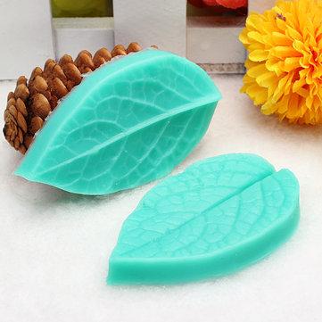 TC3773 Foglia stampo in silicone a forma di muffa del fondente della torta del silicone 3D che cuociono l'attrezzo di decorazione