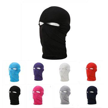 Unisex Motorcycle Riding Balaclava Ski Neck Protection Full Face Mask